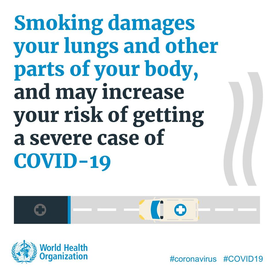 World Health Organization Infographic - Smoking 2