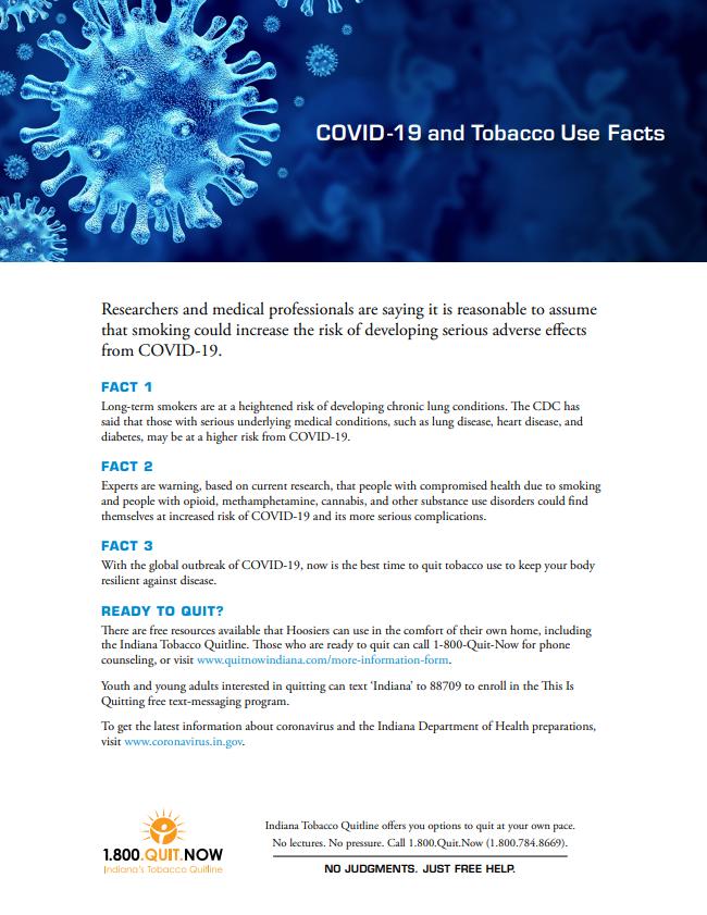 COVID-19 & Tobacco Use Facts - ITQL