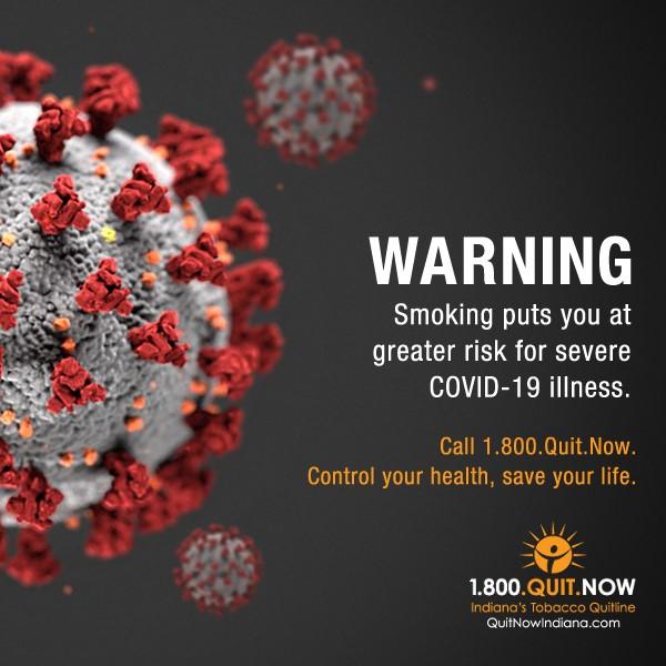 1-800-QUIT-NOW & COVID-19
